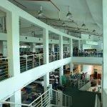 کتابخانه دانشگاه mmu  مالزی