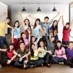 دانشجویان خوشحال