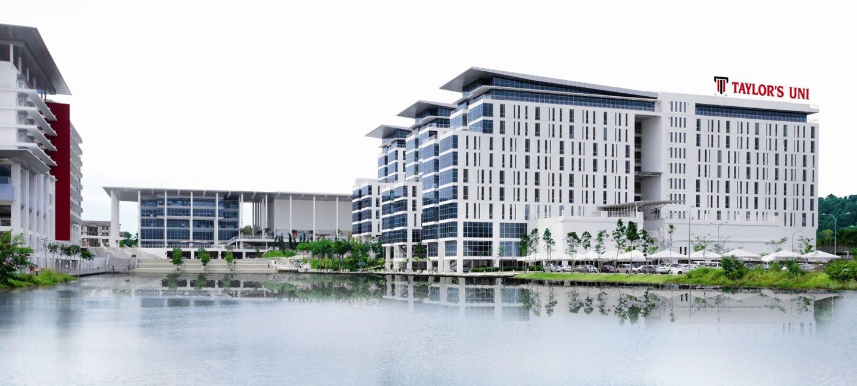 ساختمان دانشگاه تیلور مالزی