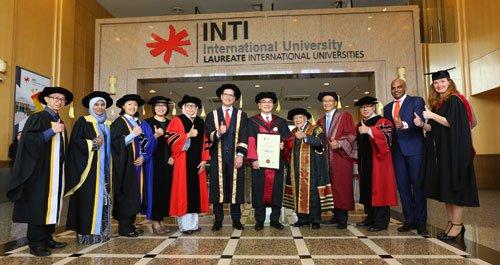 دانشجویان اینتی مالزی