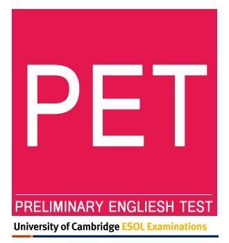 لوگو آزمون PET