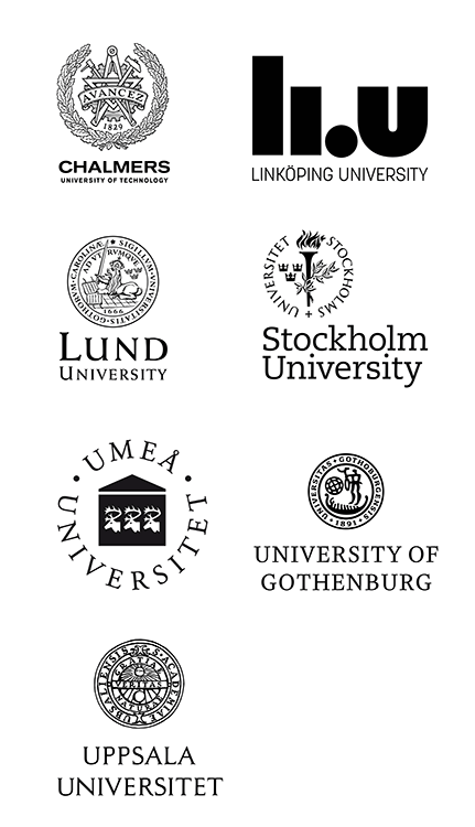 لوگو دانشگاه های سوئد