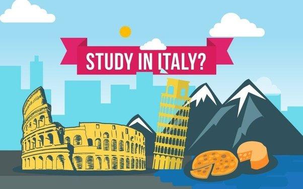 تحصیل در خارج مثل ایتالیا
