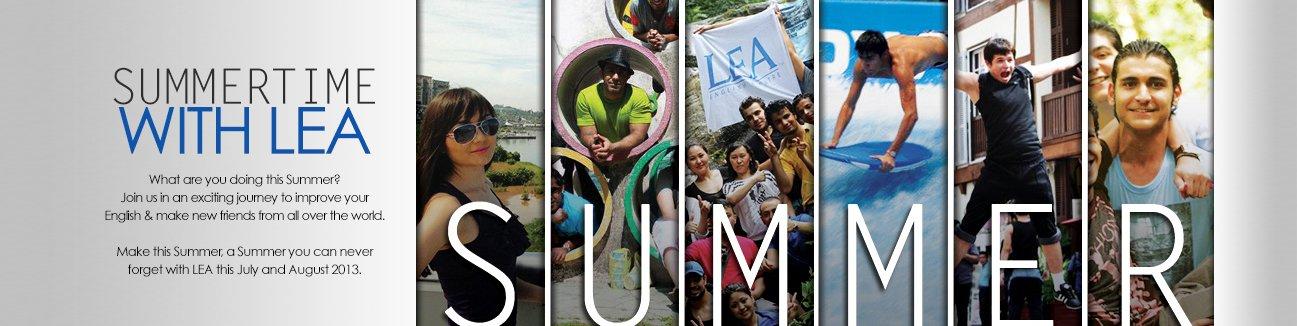 آگهی تابستانی LEA